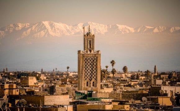 Marrakesh Morocco High Atlas