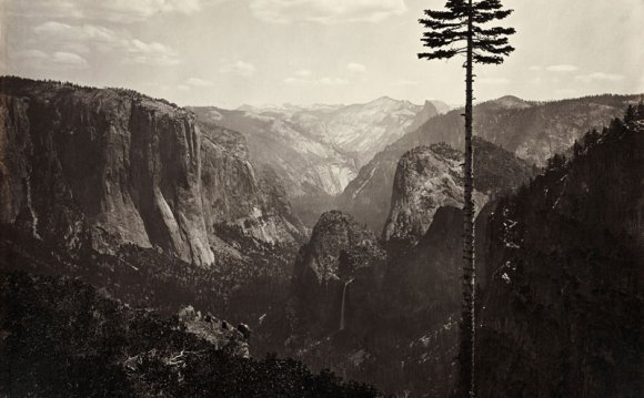 History of landscape Photography