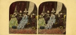 Brewster family stereoview