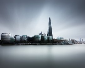London Skyline with The Shard by Joel (Julius) Tjintjelaar on 500px.com