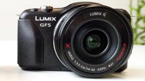 Panasonic GF5 announced