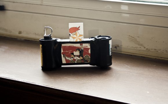 Matchbox pinhole camera