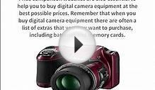 A Guide To Buying A Digital Camera Equipment, Photography