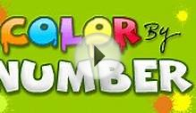 Color By Number - Number Learning Game for Preschool Kids