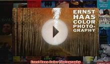 Download PDF Ernst Haas Color Photography FULL FREE