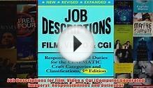 Download PDF Job Descriptions for Film Video Cgi Computer