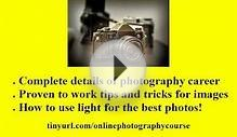 Online Photography Courses- Best Online Photography Courses