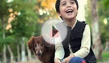 These Kids And Their Dachshund Recreate A Famous Film