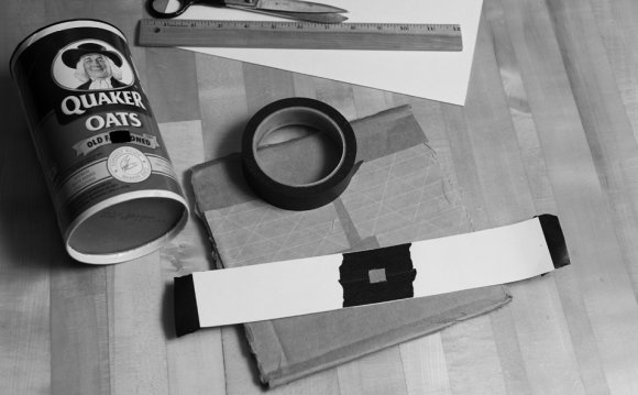 Materials for pinhole camera